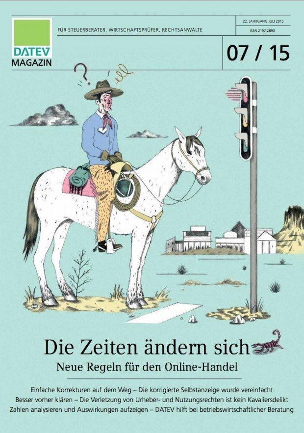usserst ungewöhnliche Cover-Illu für ein Steuerberater- und Wirtschaftsprüfer-Magazin … Der Pariser Illustrator Benjamin Courtault wird hierzulande von der Hamburger Repräsentanz Sepia vertreten. http://sepia-online.com