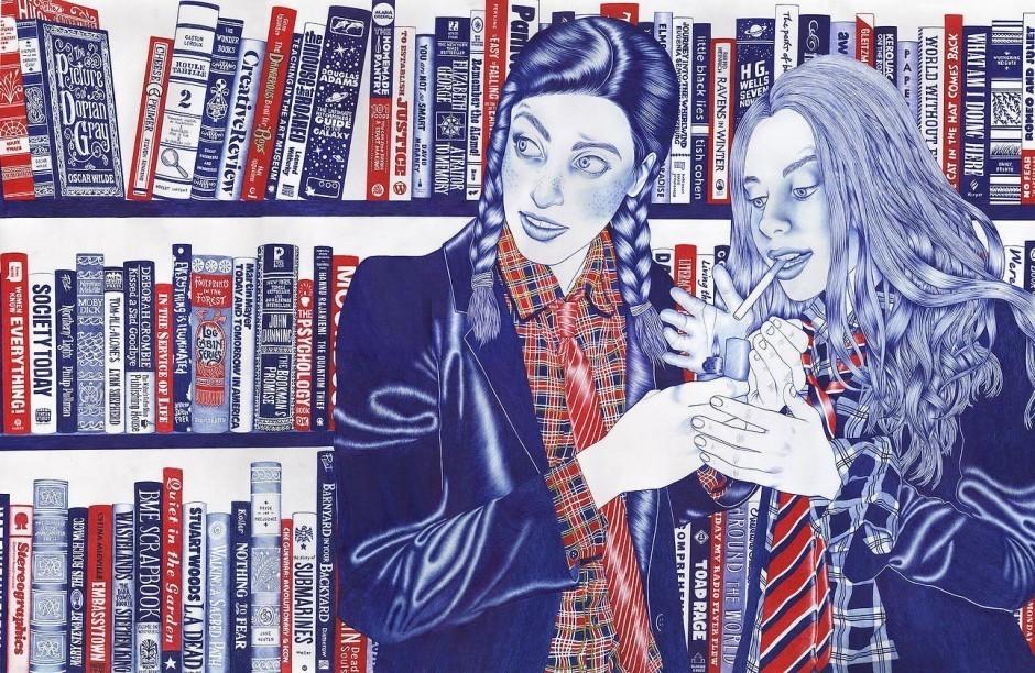 Helena Hauss: The Bet. 115 x 75 Zentimeter