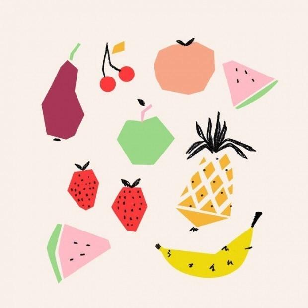 US-Illustratorin Emily Isabella hat schon reizende Kochbücher illustriert, entwirft aber auch Muster für Textilien http://emilyisabella.com/