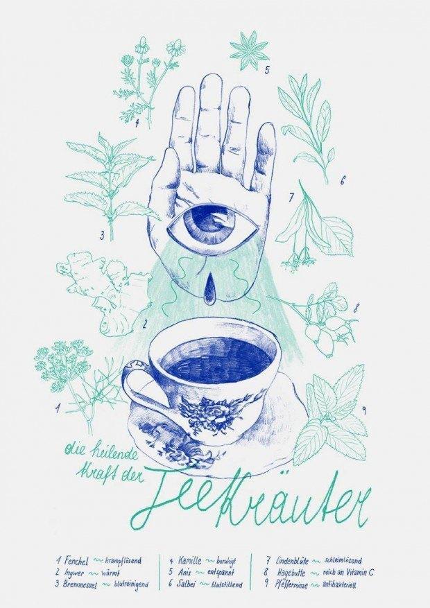 Katharina Hüttler pflegt eine zarten Stil und eine ganz eigene Farbwelt http://huettler.tumblr.com/