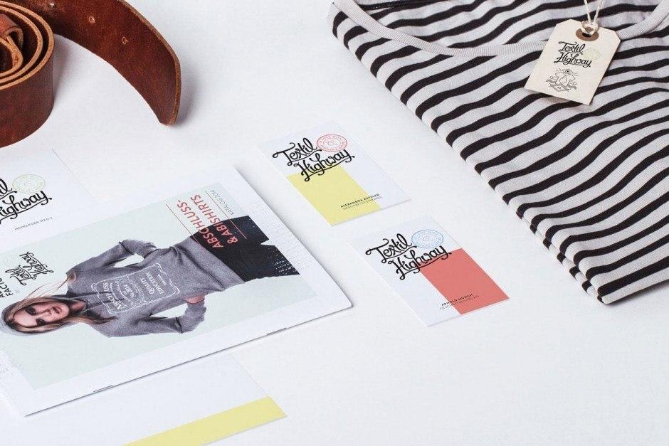 Design und Konzeption: DREIZEHN&FÜNF DESIGN STUDIO, Kunde: Textil Highway