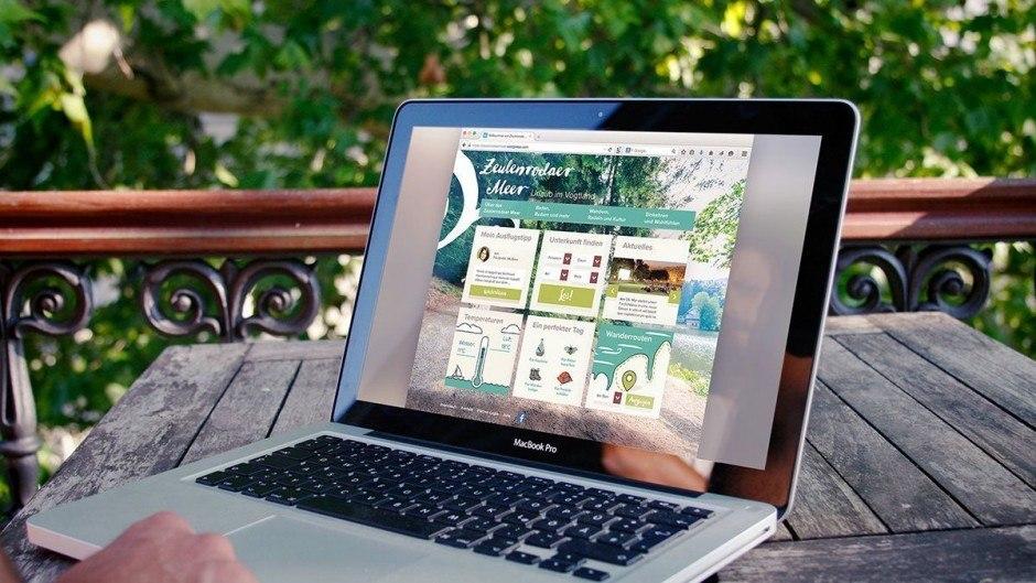 Website-Entwurf