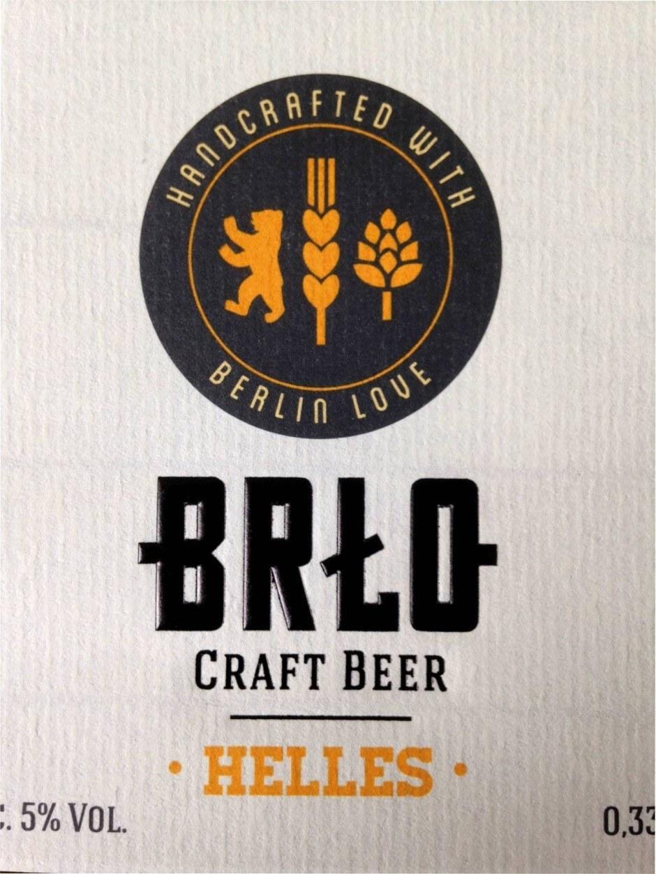Naturpapiere eignen sich besonders gut für Craft Biere, weil sie den handgemachten Charakter unterstützen. Für die Sorte BRLO gestaltete die Agentur Lutz Herrmann die Etiketten.