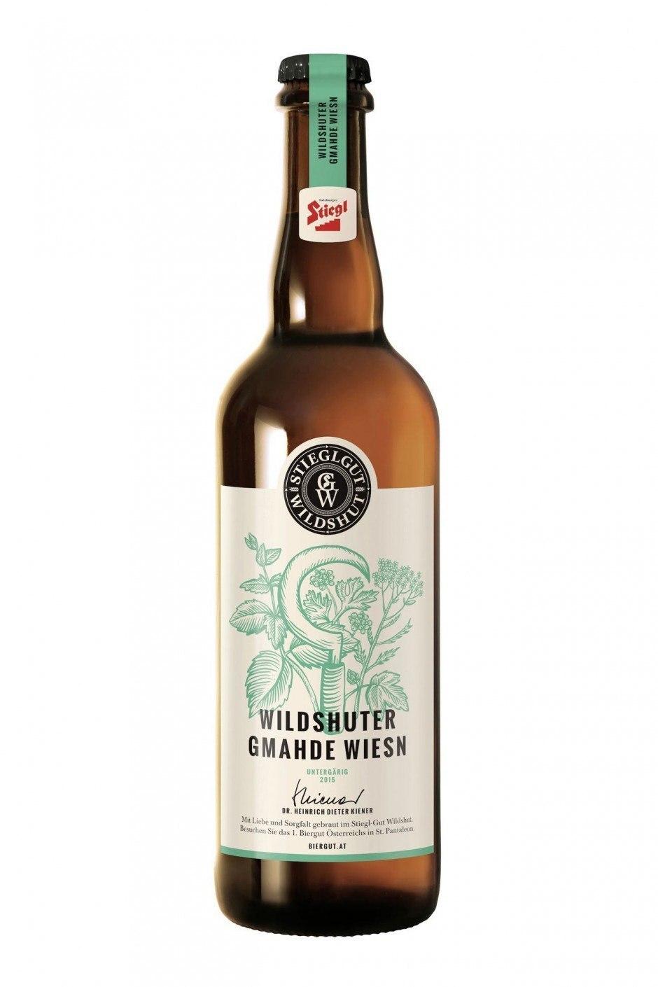 Demner, Merlicek & Bergmann verzichtete bei den Wildshuter Bieren bis auf die eigens produzierte Stanzform auf Veredelungen, denn das Etikettendesign sollte etwas Ursprüngliches, Klassisches und Echtes ausstrahlen.