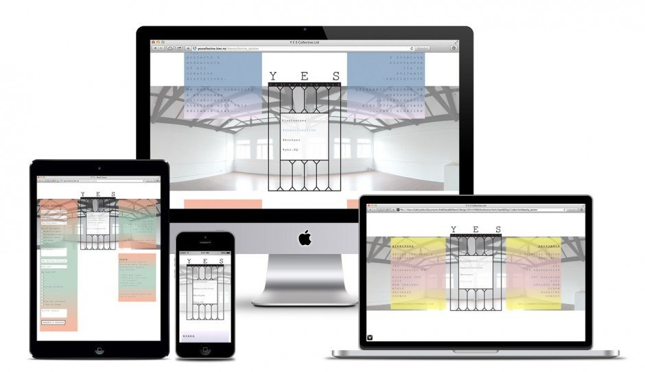 YES Collective – Responsive Website
