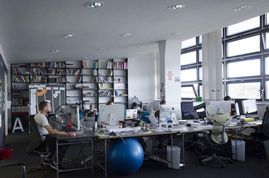 Blick ins Studio: Edenspiekermann