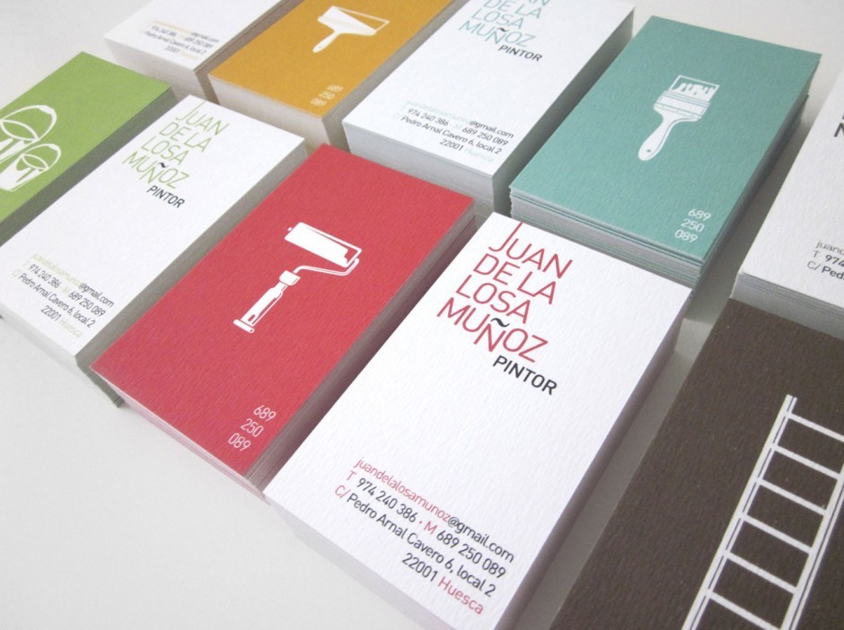 Painter Businesscards