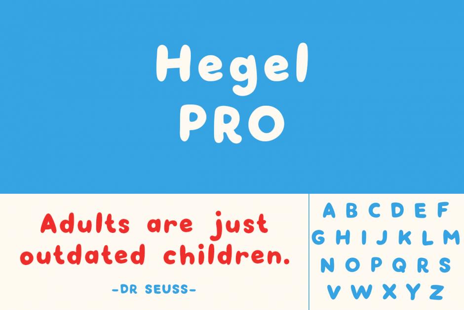 In Johannesburgs Nachbarstadt Pretoria wirkt Reghardt Gobbelaar, der sich bei seinen Schriftentwürfen auf samteneren Pfoten bewegt. Hegel Pro ist die Fortführung seiner infantilen Schrift Hegel, Polly Ann ist ein niedliches Corporate Design für einen Eiskrem- und Bäckereishop.