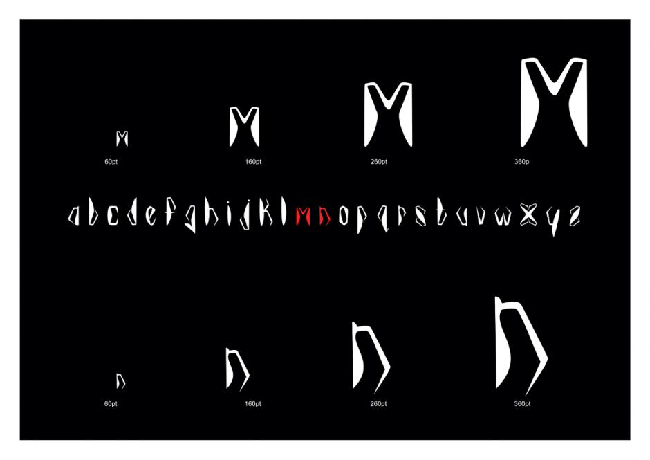 Neben der Arbeit als multimedialer Künstler und seiner Lehrtätigkeit entwirft Kurt Campbell aus Kapstadt auch äußerst ungewöhnliche Schriften. Die Fonts Kaggen, Heirloom und Mapungubwe eint dabei, dass sie ihr Formenvokabular aus mythisch aufgeladenen Fundstücken alter afrikanischer Kulturen beziehen.