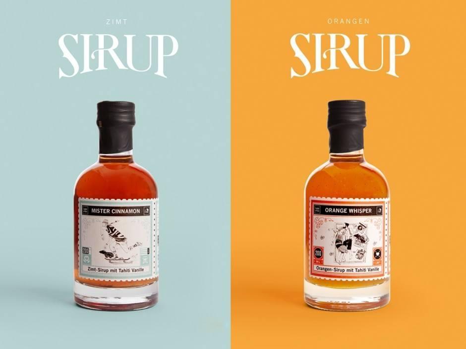 Studio Chapeaux aus Hamburg kreierte das Packaging Design für die Sirups des Delikatessenversands Lapp & Fao aus Bremen – dafür gab's eine iF packaging design award.