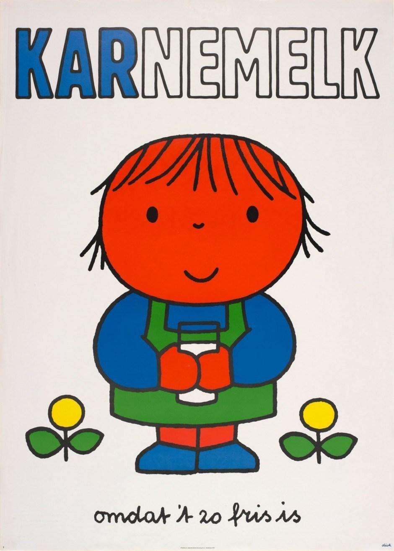 Dick Bruna. Karnemelk, 1971