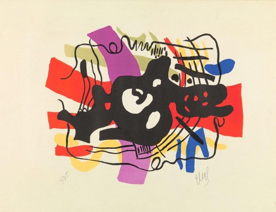 Fernand Léger. La racine noire, 1948