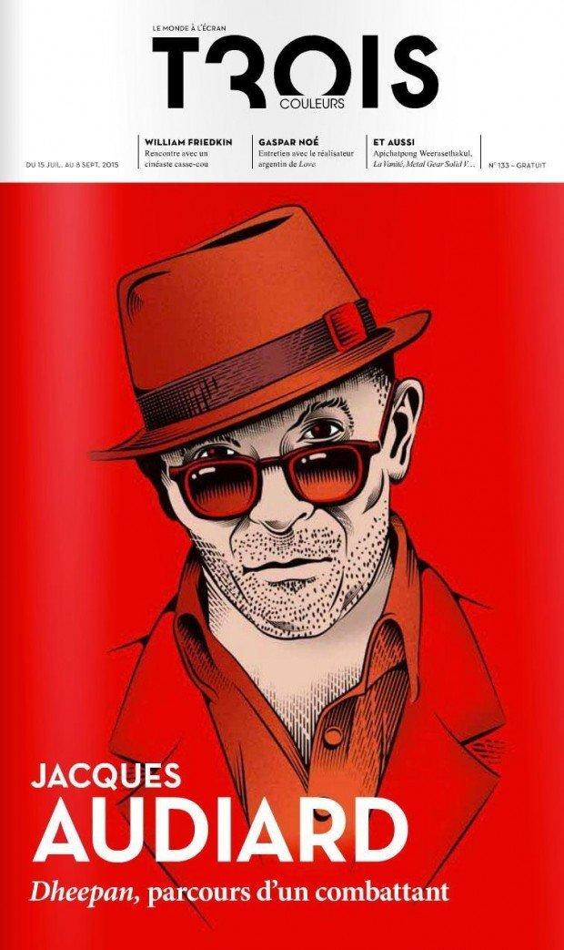 Illustration für das Cover eines Kinomagazins: Yann Legendre, www.yannlegendre.com