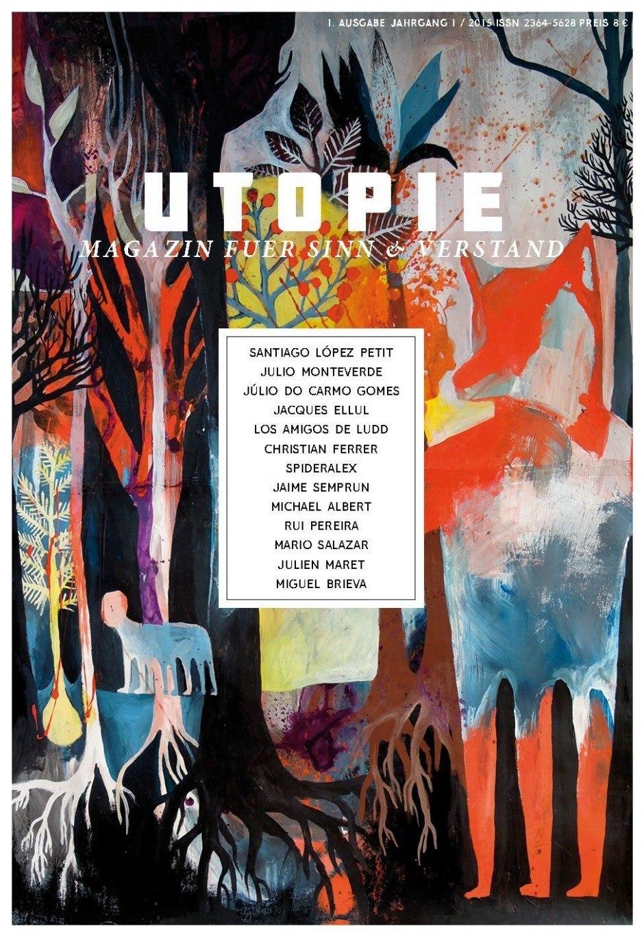 Cover für ein neues Magazin aus Berlin: Elsa Klever, www.elsaklever.de