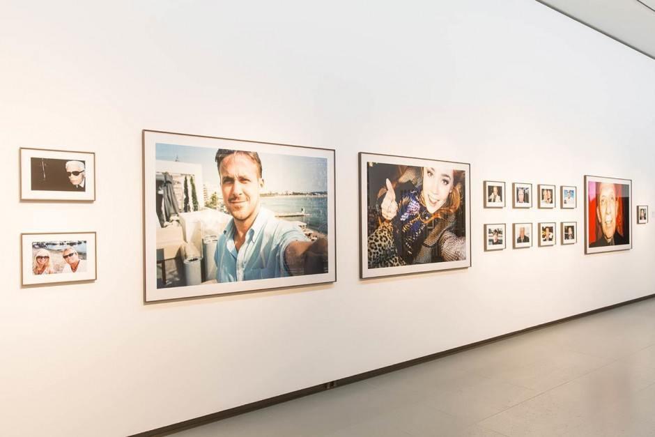 Ausstellungsansicht: Jonas Unger Autoportraits