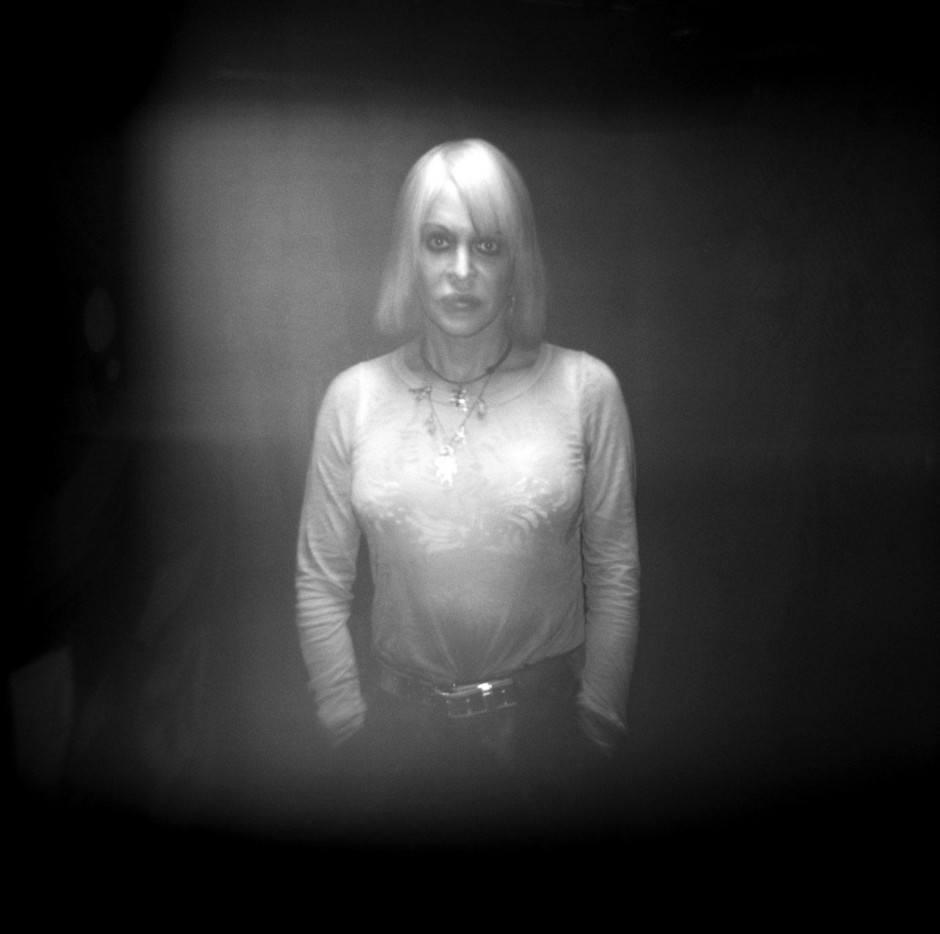 Genesis P. Orridge (Psychic TV, Throbbing Gristle) in Hamburg 2007 für mein Buch Fotoreportage23-In search of Ian Curtis