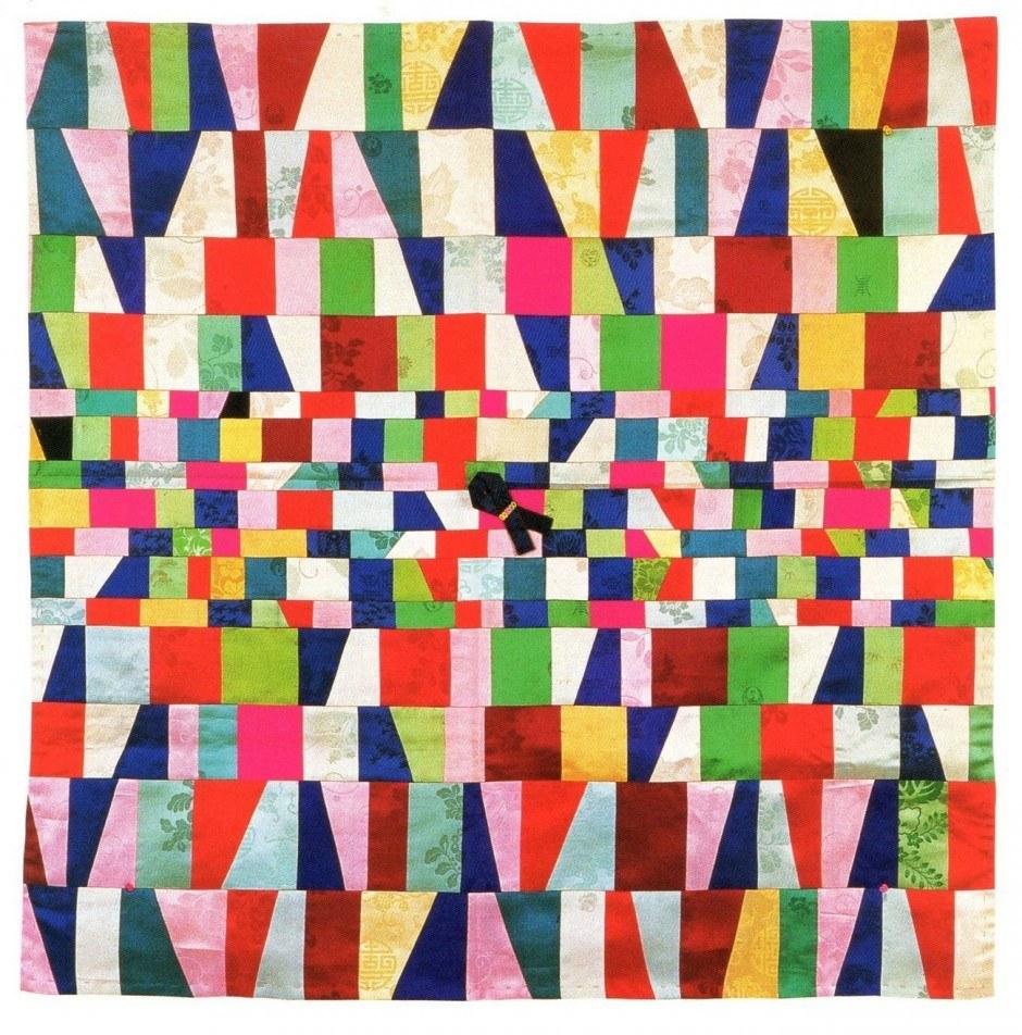 Anonyme, patchwork XIXe siècle