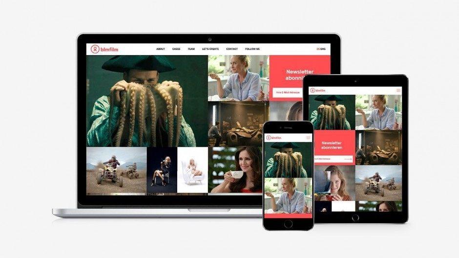 BLM Film, Website