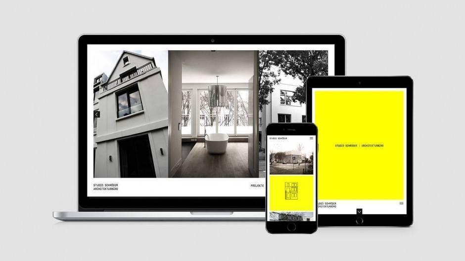Studio Schröder Architekturbüro, Website