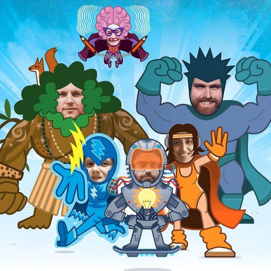 Der Superhelden-Generator