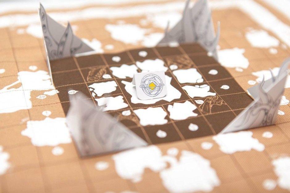 Die Reise zum Polarschatz – Aufbau
