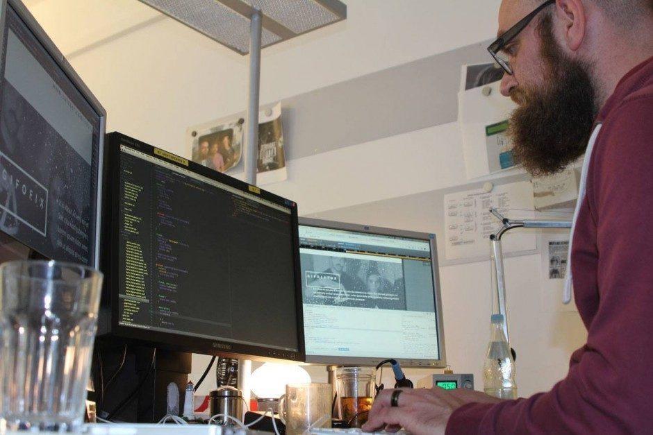Fork-Box: Coding Landingpages
