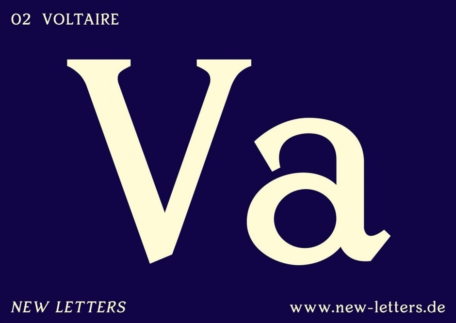 New Letters – Typefaces