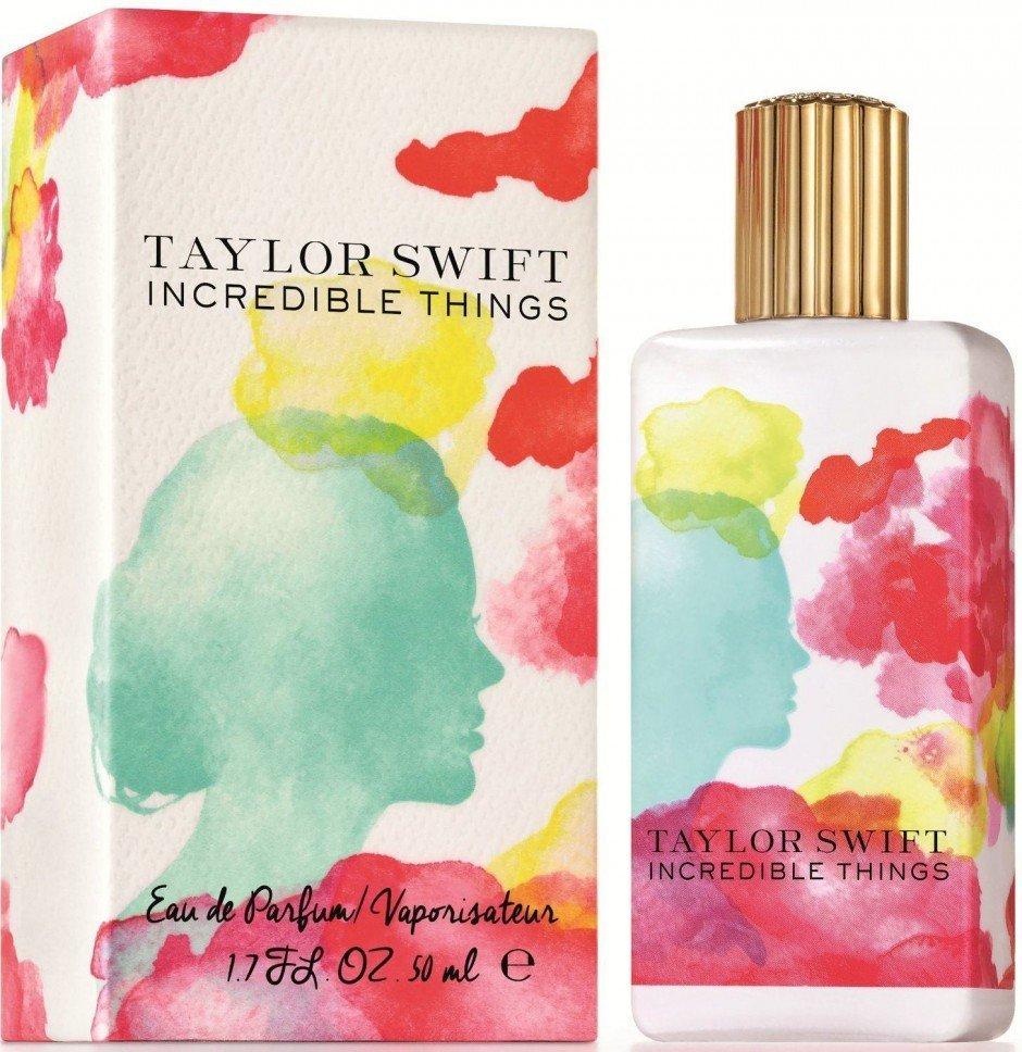 Aquarelle von Bella Towse kamen auf dem neuesten Duft von Popstar Taylor Swift zum Einsatz.