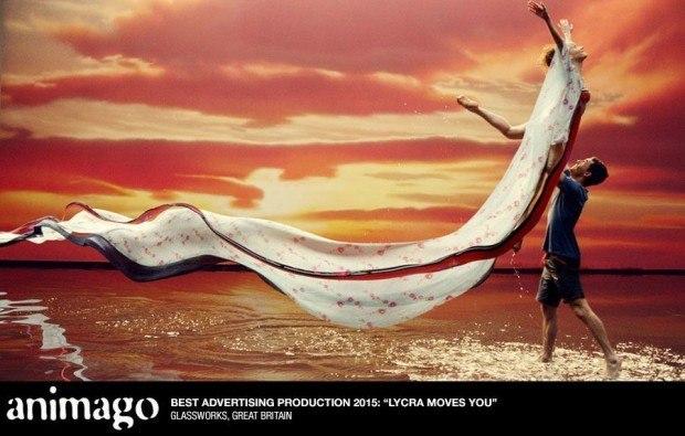 Werbung: Lycra Moves You