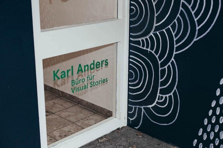 Blick ins Studio: Karl Anders