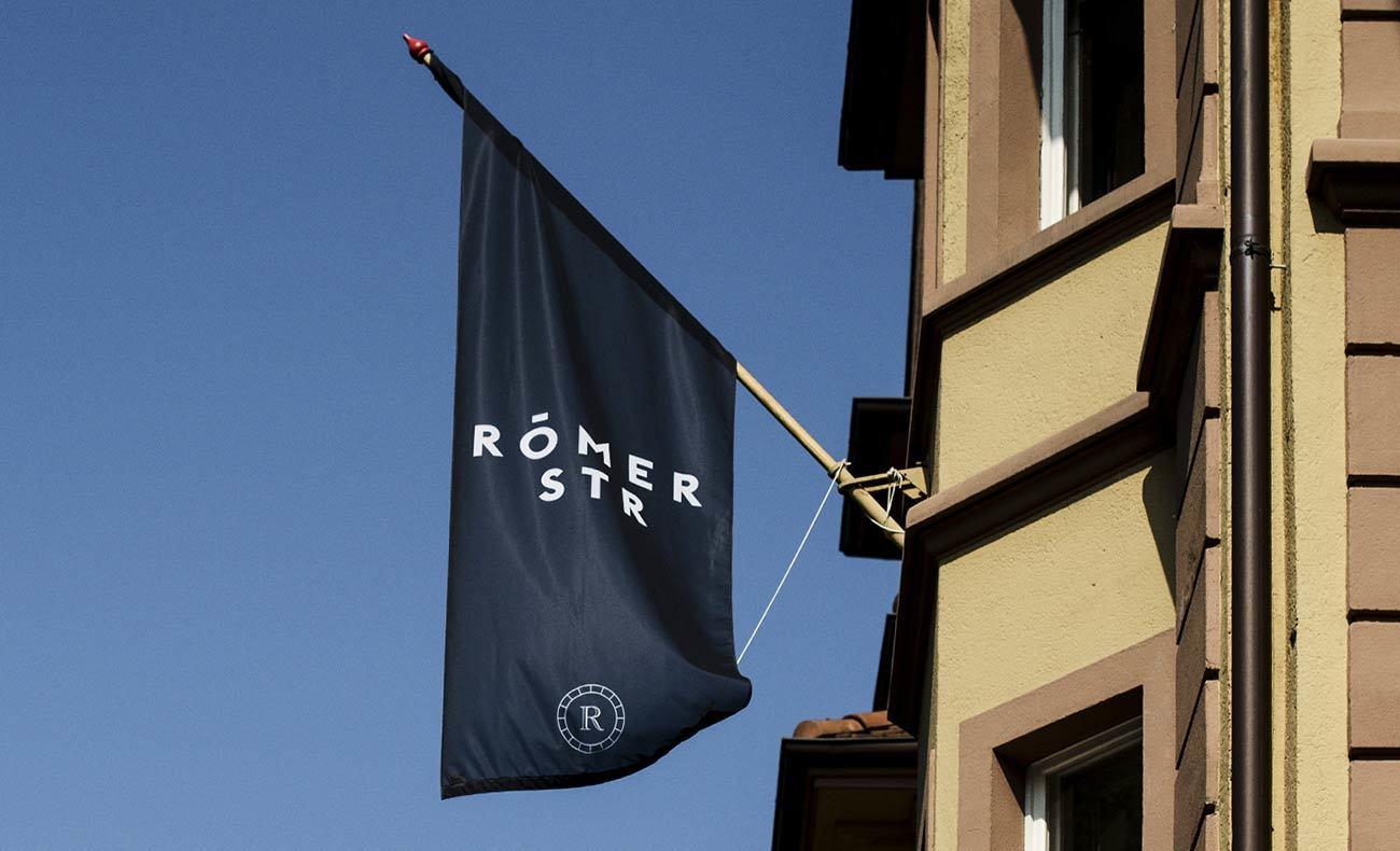 Römerstraße Branding