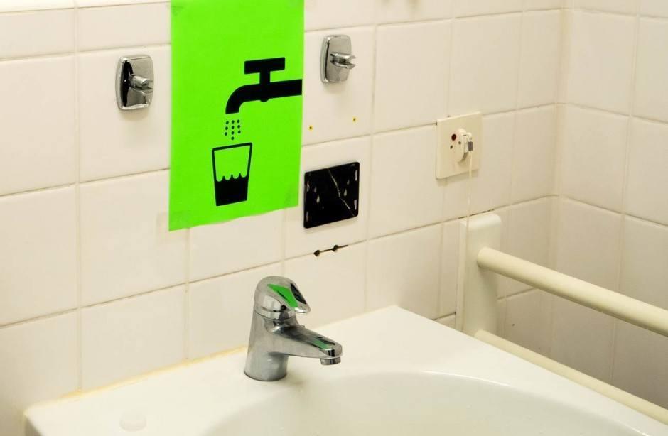 Hier ist das Wasser trinkbar.