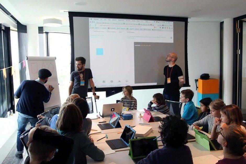 NAND auf dem Junior Lab: Programmieren für Kids