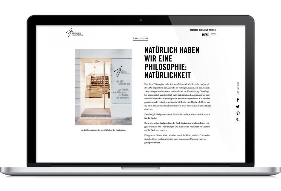 Joseph Brot – Webdesign
