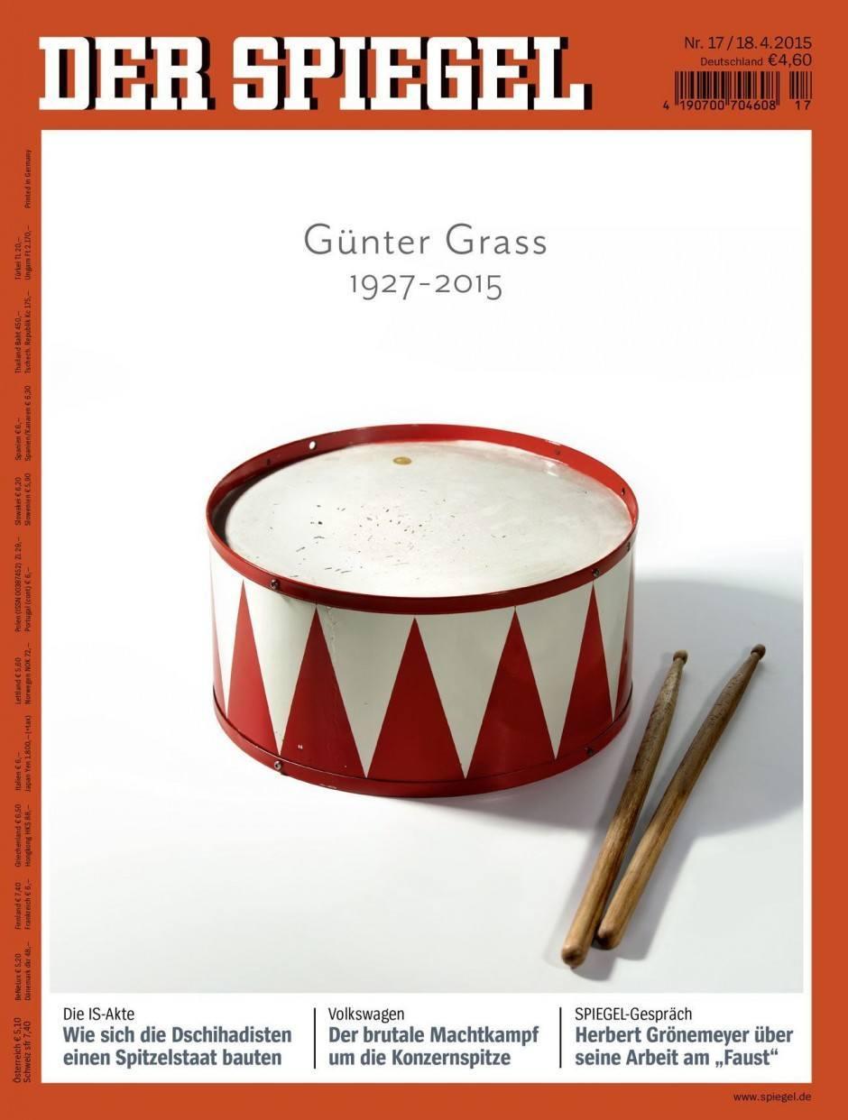 Cover des Jahres | Bronze: Spiegel Nr. 17/2015 – Günter Grass 1927 – 2015