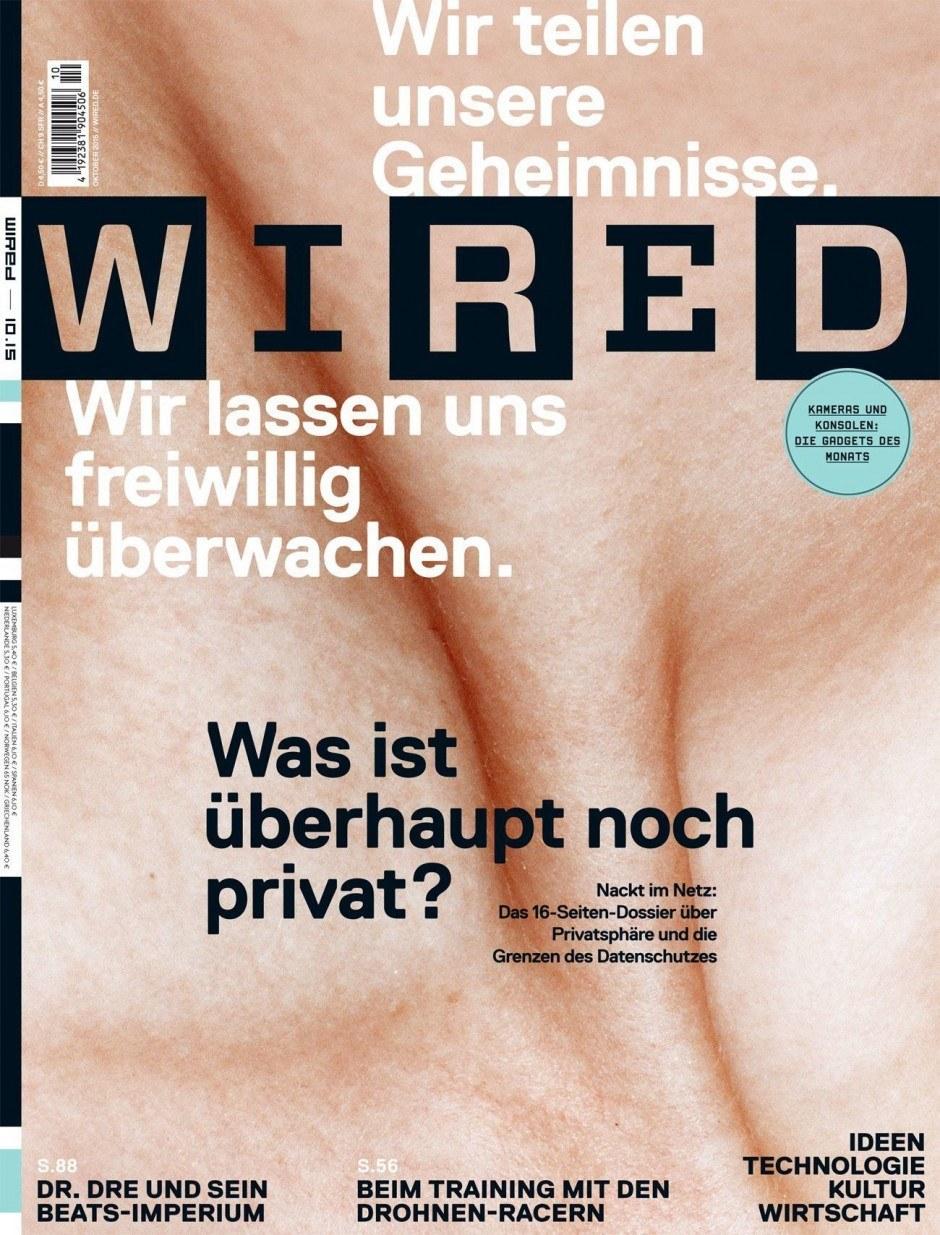 NewcomerMagazin des Jahres | Gold: Wired – Condé Nast