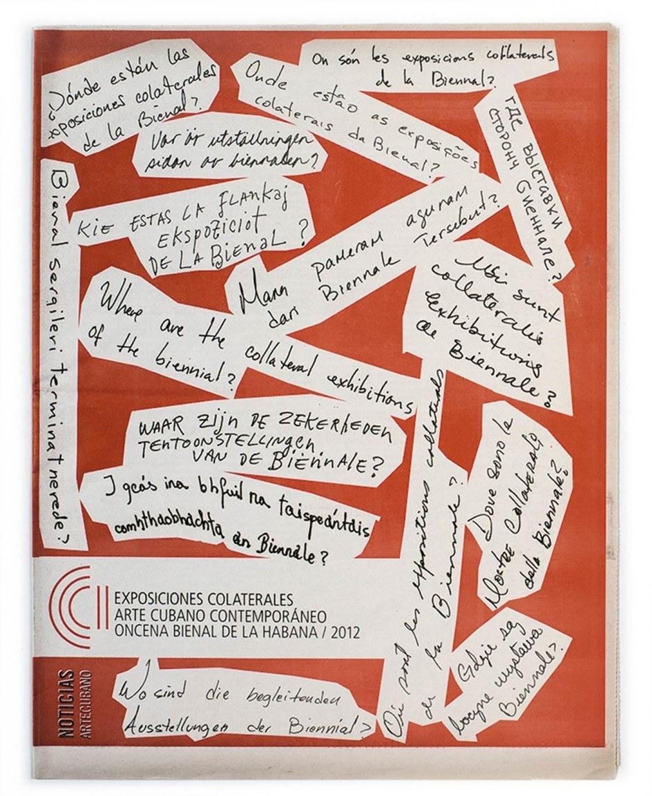 Zeitung 11. Biennale