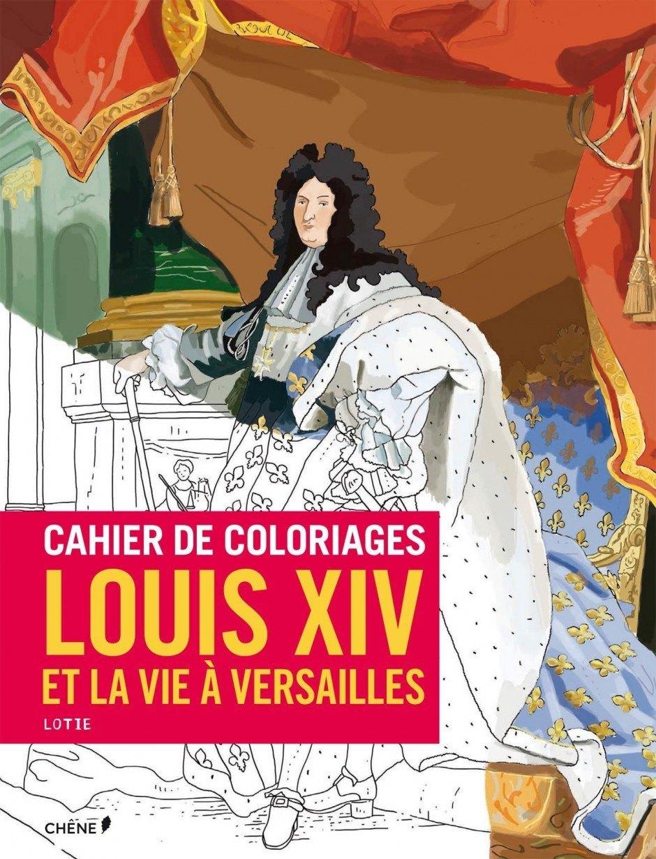 Louis XIV Malbuch