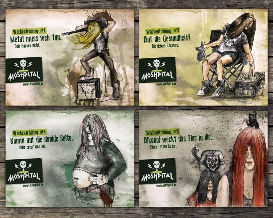 Das BARMER GEK »MOSHPITAL« | Kategorie: Crossmediale Kampagne