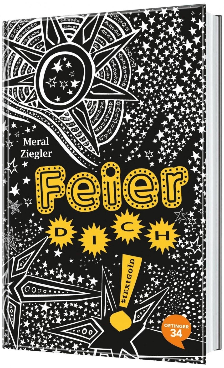 Cover »Feier dich!« von Meral Ziegler/Romina Birzer, Oetinger34