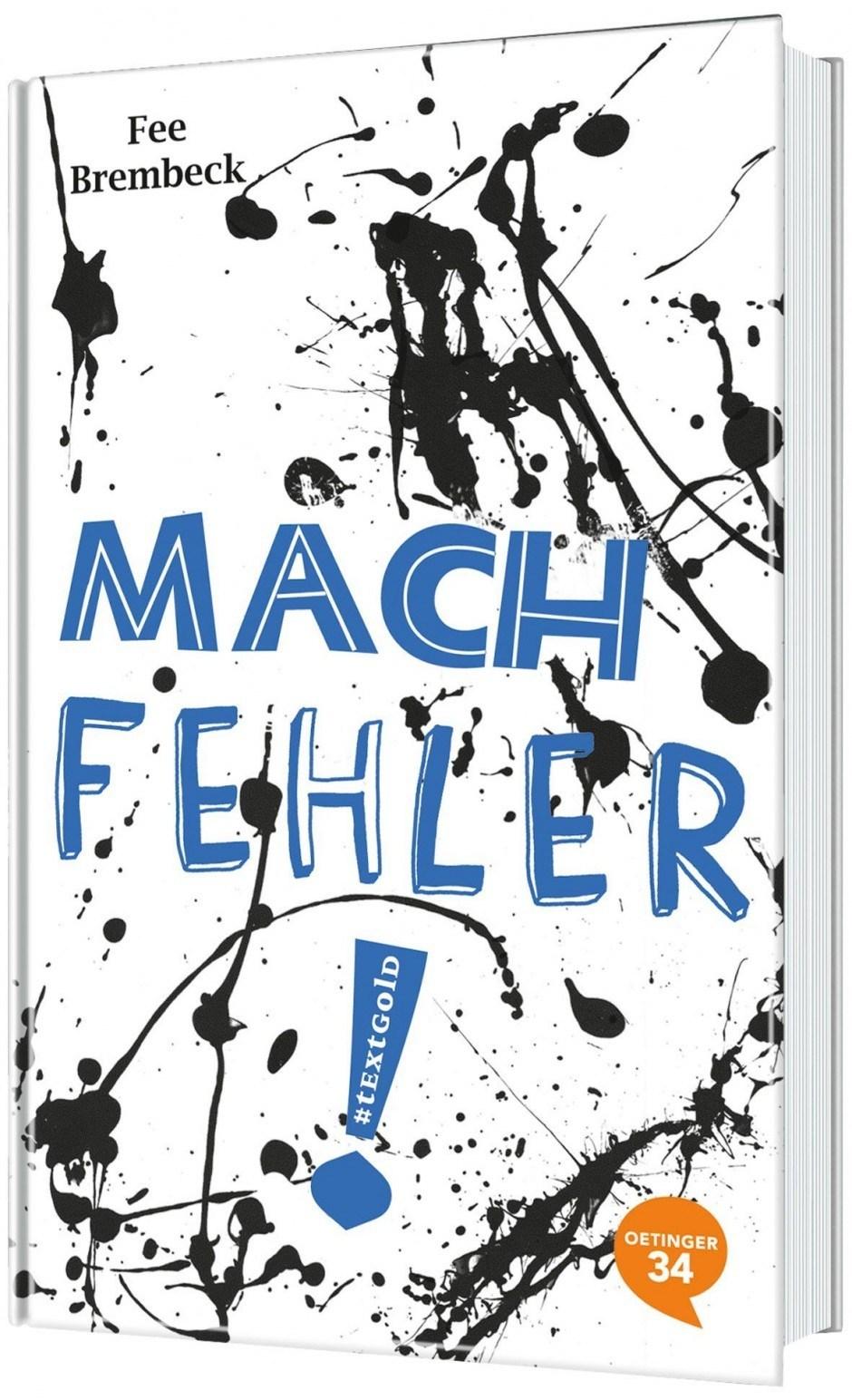 Cover »Mach Fehler!« von Fee/Ellenaar, Oetinger34