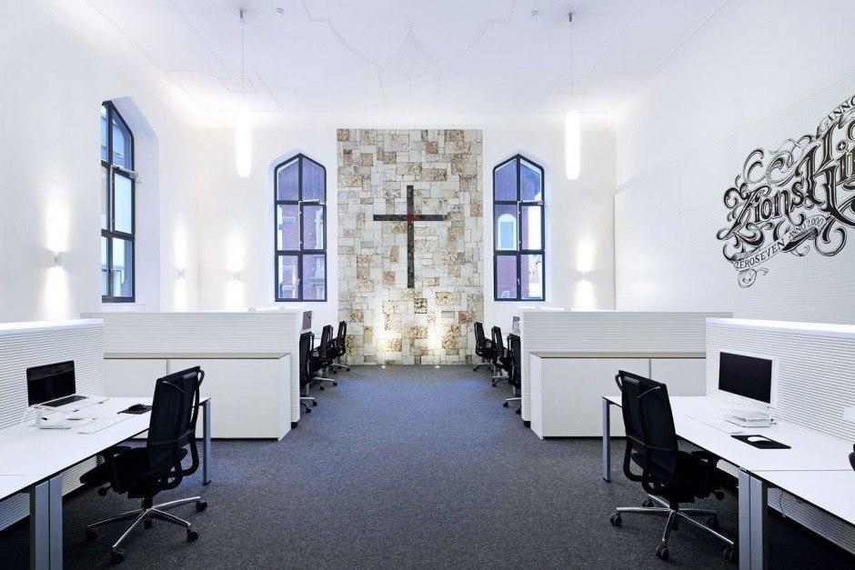 Kirchenfeeling mit Kreuz