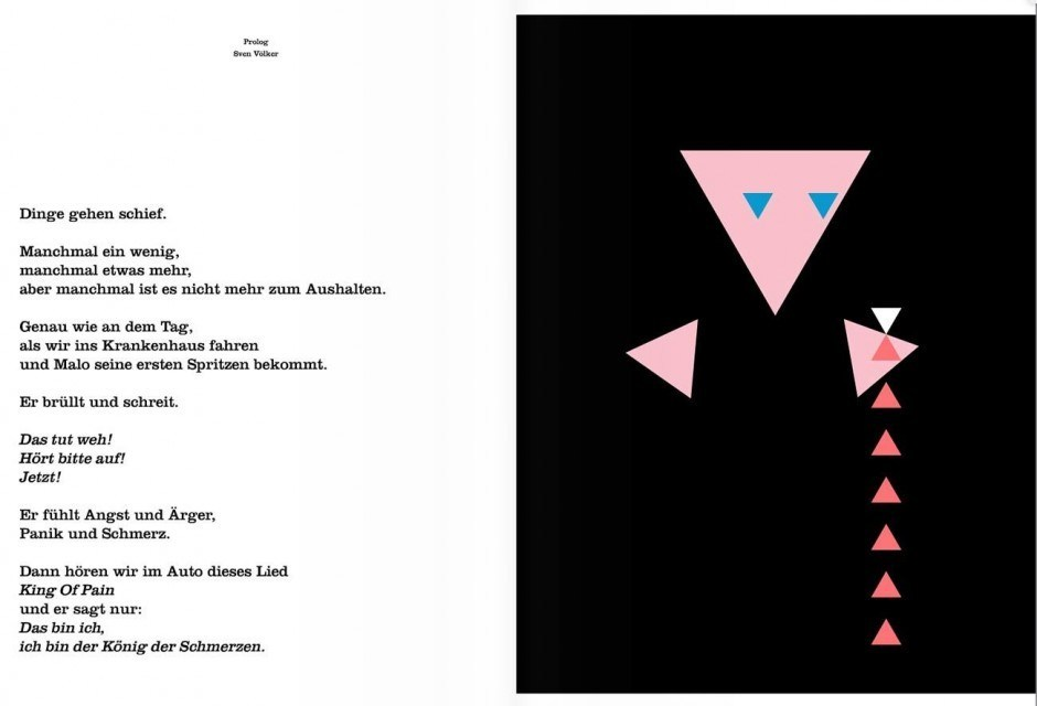 Sven Voelker und Sting: There's a little black spot on the sun today. Da ist heute ein kleiner schwarzer Fleck auf der Sonne. Zürich (NordSüd Verlag), 44 Seiten. 25,90 Franken. 978-3-314-10305-6