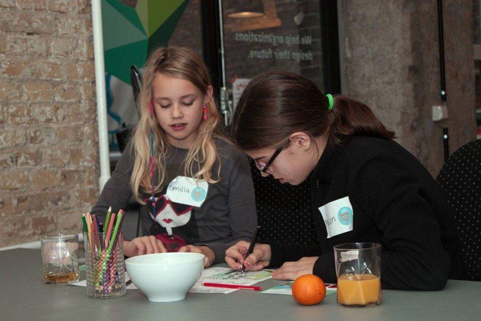Programmieren als Fremdsprache: IXDS öffnet regelmäßig die Pforten für Kinder und hackt mit ihnen »Future Scenarios«