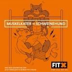 FitX Kampagne Muskelkater vs. Schweinehund