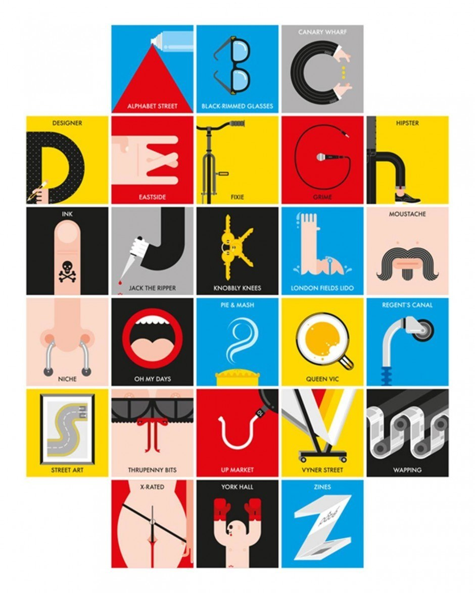 East End Alphabet