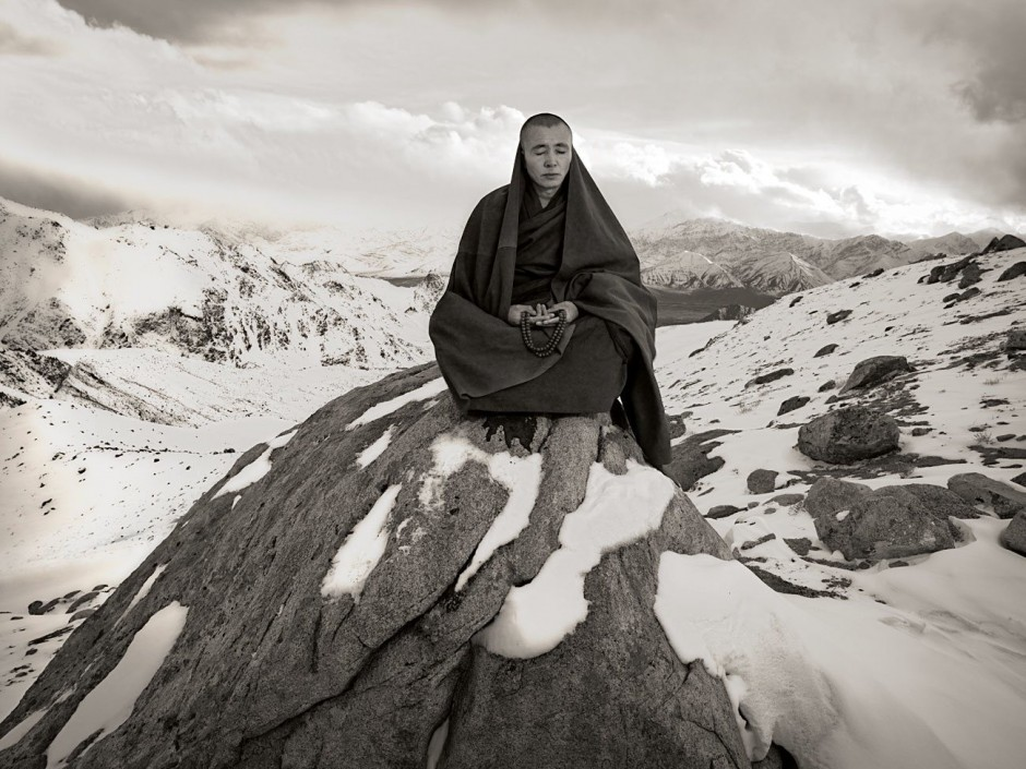 Heaven Meets Earth. Ladakh, March 1, 2010