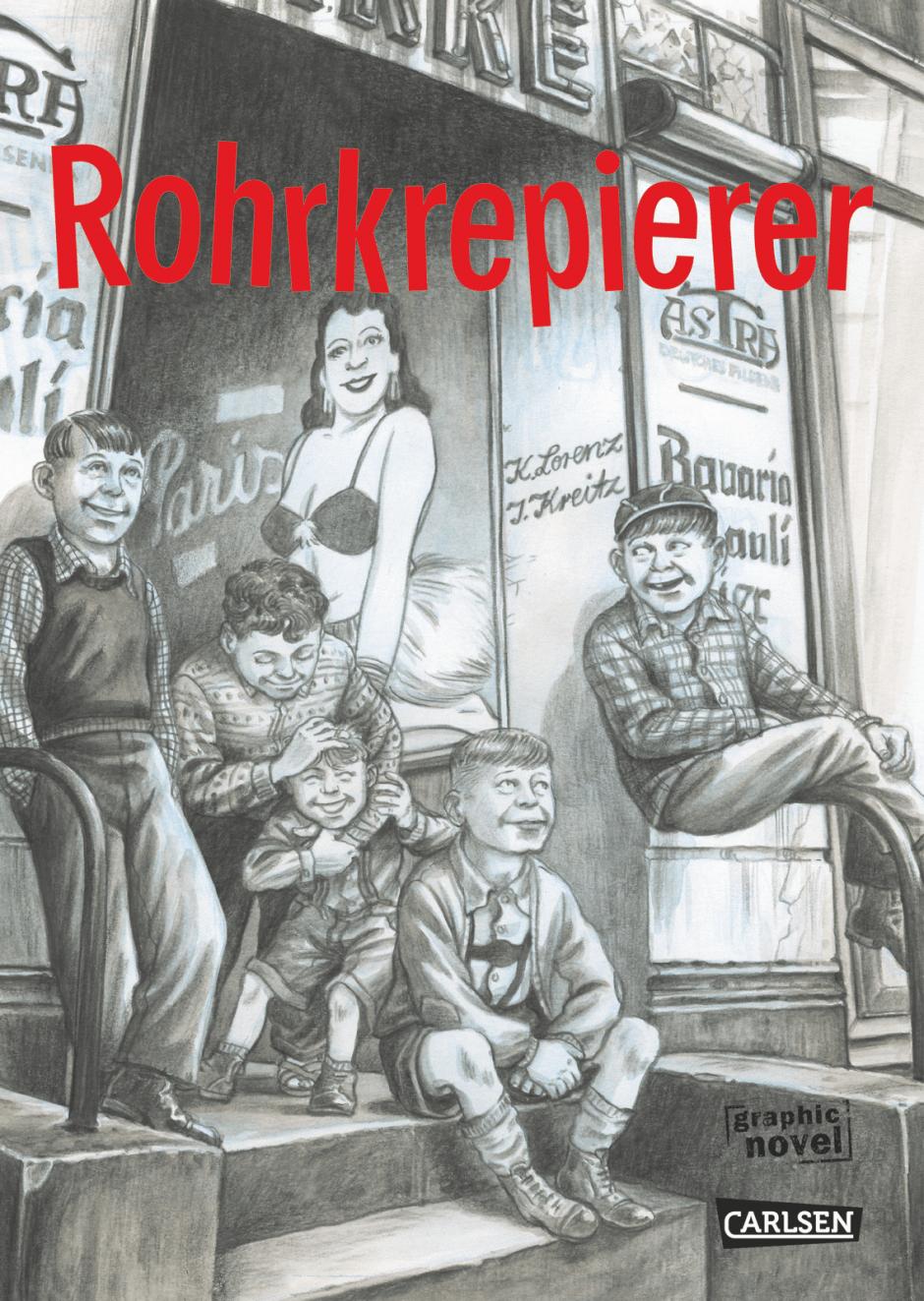 Isabel Kreitz: Rohrkrepierer. Carlsen Verlag, Hamburg. 17,5 x 24,5 cm, 304 Seiten. 26,99 Euro. ISBN 978-3-551-78378-3