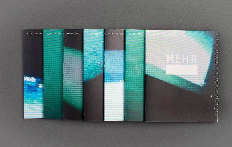 HAW Hamburg, Department Design, Auflage:  800 Stück,  Erscheinungsweise:  alle andert- halb Jahre, Preis: 18 Euro, www.nichtjetzt.com