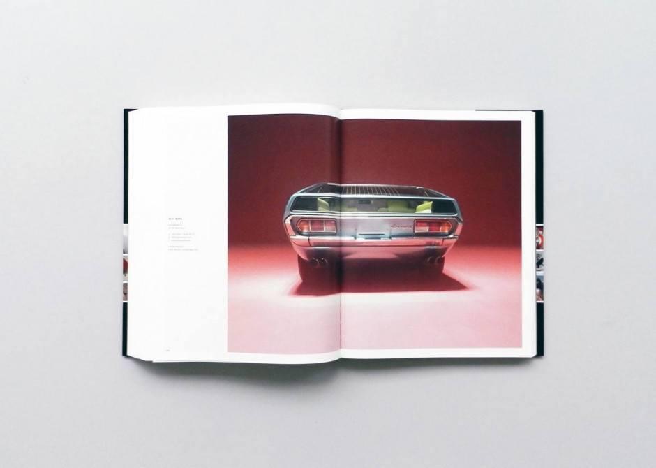 Eine Portfoliodoppelseite – hier von Alex Rank